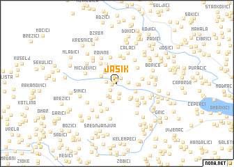 map of Jasik