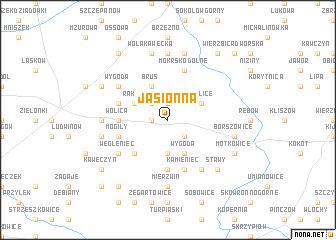 map of Jasionna