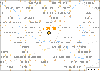 map of Jasion