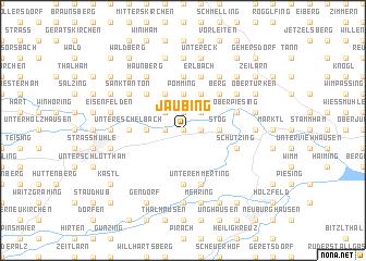 map of Jaubing