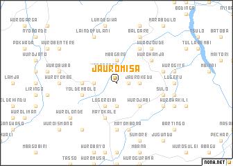 map of Jauro Misa