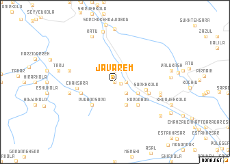 map of Javārem
