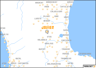 map of Javier