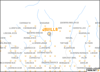 map of Javilla