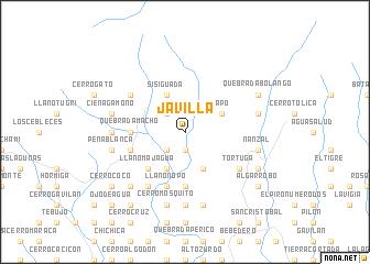 map of Javilla