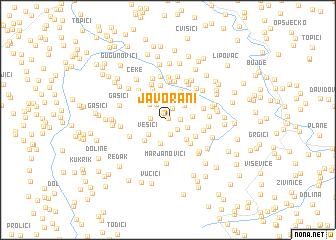 map of Javorani