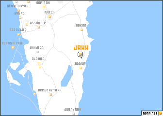 map of Jaww