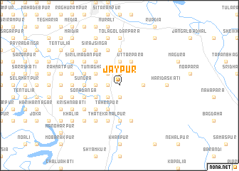 map of Jaypur