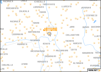 map of Jayune