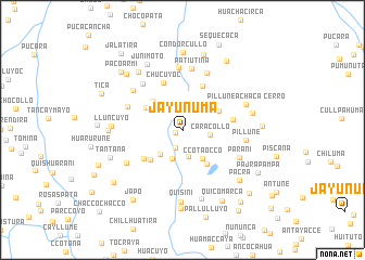 map of Jayunuma