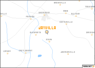map of Jay Villa