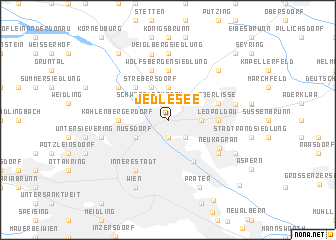 map of Jedlesee