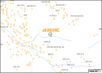 map of Jehovac
