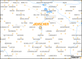 map of Jehschen