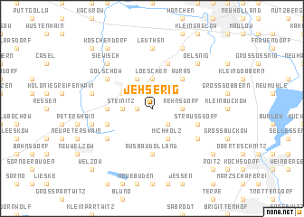 map of Jehserig