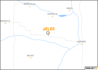 map of Jelen