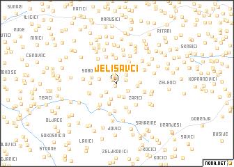 map of Jelisavci