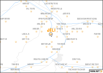 map of Jeli