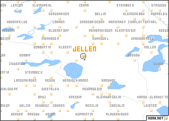map of Jellen