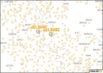 map of Jelovac