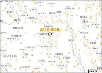 map of Jelov Kraj