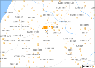 map of Jemaa