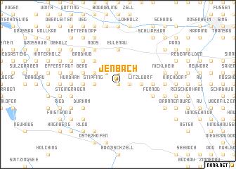 map of Jenbach