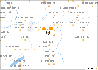 map of Jeouna