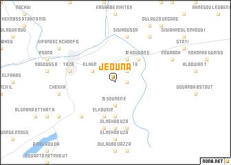 map of Jeouna