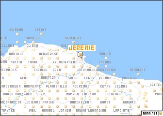 Jrmie Haiti map nonanet
