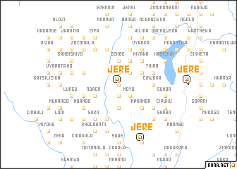 map of Jere