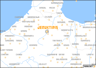 map of Jeruktipis