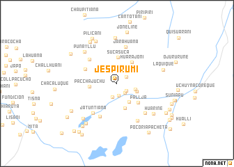 map of Jespirumi