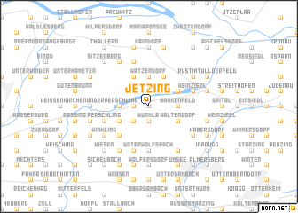 map of Jetzing