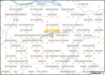 map of Jetzing