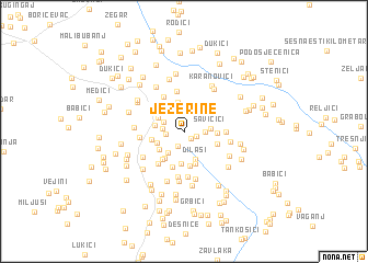map of Jezerine