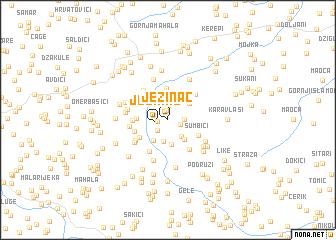 map of Ježinac