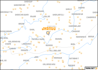 map of Jhandu