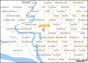 map of Jhikra