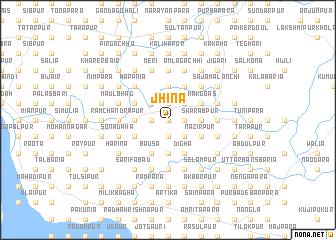 map of Jhina