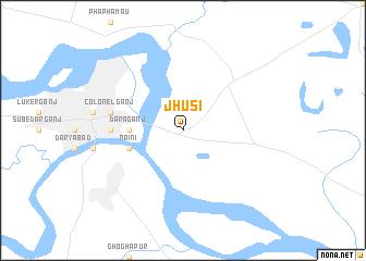 map of Jhūsi