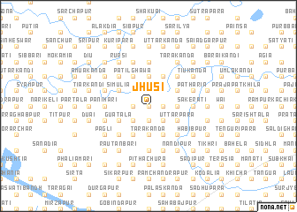 map of Jhusi