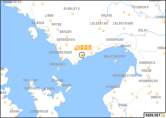 map of Jia-an