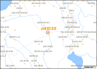 map of Jibacoa