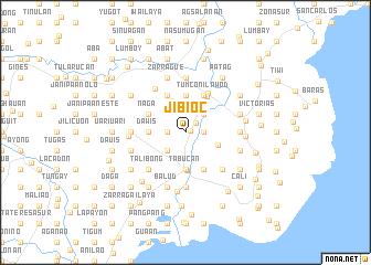 map of Jibioc