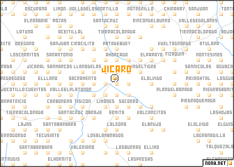 map of Jícaro