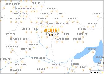 map of Jicotea