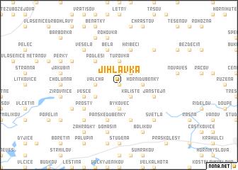 map of Jihlávka