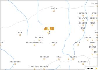 map of Jīlbo