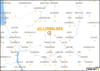 map of Jilli Mbalare